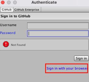 GitHubForUnity_ログインできないなら