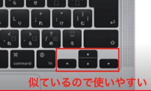 hkkb_十字キーが似ているので使いやすい